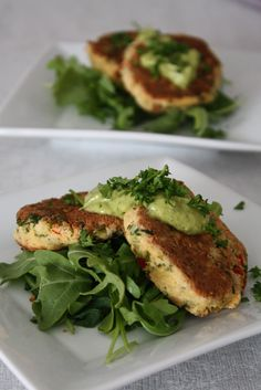 """Food and Yoga for Life: Veggie """"Crab"""" Cakes with Califlower"""