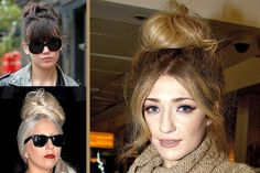 Turbo Top Knots! Lady Gaga, Tulisa, Gwen Stefani and Nicola Roberts with HIT Christmas hair trend – here's how: