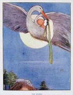 9 Fantastiche Immagini Su Disegni Nascita Stork Baby Cards E Baby