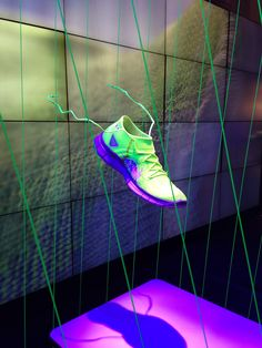 Nike store display New York