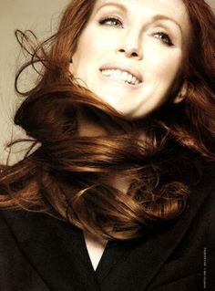 """""""We redheads are a minority, we tend to notice each other - you know, and notice our identity."""" - Julianne Moore, actress"""