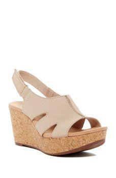 e6d3e4c0a92 Clarks - Annadel Bari Platform Wedge Sandal Platform Wedge Sandals