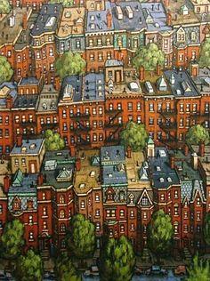 wasbella102:  Boston Brownstones: Timothy Craig
