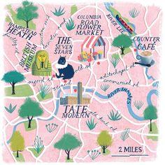 Ellie Taylor - Map of London