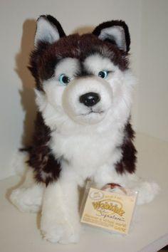 Webkinz Signature Siberian Husky New with Sealed Code Tag NWT #Webkinz