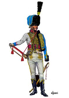 French 5th Regt. Hussar Trumpeter 1810-12.