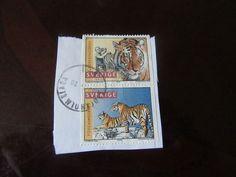 Stamps Old Used Sweden Lot of 2 pcs Sweden, Stamps, Cover, Books, Vintage, Art, Livros, Craft Art, Book