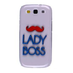 Get the Latest #Samsung #Galaxy #S #3 #i535 #i747 #L710 #T999 #I9300 #Back #Cover #Case - 3D Red Blue Lady Boss Laser Cut at a huge discount price! It will protect and make your phone more fashionable and attractive!!! $6.99