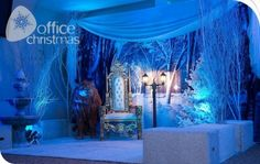 Welcome to Dash of Sparkle, event planning and corporate event specialists in Hertfordshire. We also specialise in wedding planning and Jewish events. Christmas Grotto Ideas, Christmas Fayre Ideas, Christmas Party Themes, Christmas Decorations, Winter Party Themes, Office Christmas, Christmas Hallway, Throne Chair, Chronicles Of Narnia