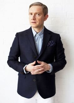 Sherlock - Martin Freeman as John Watson. Martin Freeman, Benedict Cumberbatch, Sherlock Bbc, Esquire Uk, Amanda Abbington, Benedict And Martin, John Martin, Mrs Hudson, Uk Photos