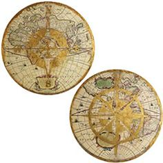 Compass Wall art.  I want these, but can't find them.
