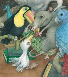 The Seagull & the Cat Who Showed Tt How to Fly by Luis Sepulveda, illus. by Lina Dudaite