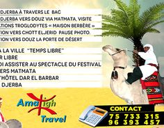 "Check out new work on my @Behance portfolio: ""Amazigh Travel Djerba 