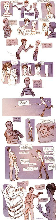 Teen Sherlock- The Boomerang Pt3 by DrSlug.deviantart... on @deviantART