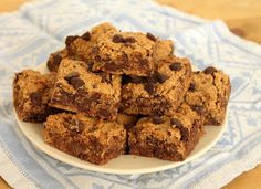 Food Lust People Love: Passover Chocolate Chip Cookie Bars #SundaySupper