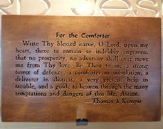 For the Comforter prayer carving on Maple wood. This prayer dates from the century. 15th Century, Dates, Comforters, Verses, Prayers, Carving, Writing, Wood, Etsy