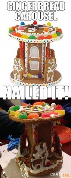 Crummy Gingerbread Carousel