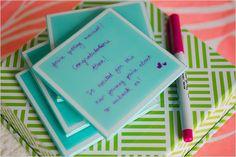 keepsake coasters bridal shower ideas