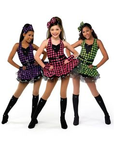 Another #Beautiful #dance #costume! This one is by A Wish Come True and called TEAR IT UP Style = 12661 | visit CostumeManager.com for more #DanceCostumes!