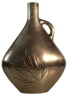 Dolbi Cashier Brass Vase