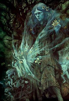 Sweet Willow Tree, iseesigils: Twilight ~ Brian Froud
