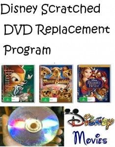Everyone has scratched Disney movies at home - Well don't throw them away.... Disney has a replacement program! Check out the Disney Scratched DVD Replacement Program!