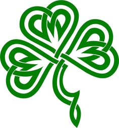 Celtic Clover | Irish Clover / Shamrock Celtic Knot Decal /Sticker You Pick Color