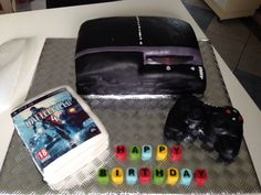 18th PlayStation 3 cake