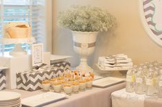 You Are My Sunshine Baby Shower Brunch | CatchMyParty.com