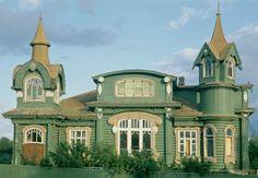 Art nouveau russe by Igor Palmin, via Flickr~Vladimir region