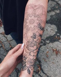 Reservations are possible in Los Angeles. Email: 👉🏽 Sasha Tattoo @ gm… 👈 Ÿ Tattoo – diy best tattoo - diy tattoo images Hand Tattoos, Best Sleeve Tattoos, Forearm Tattoos, Body Art Tattoos, Tattoo Sleeves, Forearm Mandala Tattoo, Tatoos, Tattoos Pics, Mandala Tattoo Sleeve Women