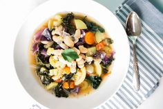 The best mediterranean soup in 45 minutes flat.