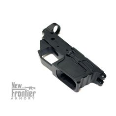 New Frontier Armory C-9 Stripped Billet Lower Receiver -- Glock Style Mags - 7075 T6 Aluminum - Multi Caliber - 9mm / .40 / .357 SIG Glock Style Magazines