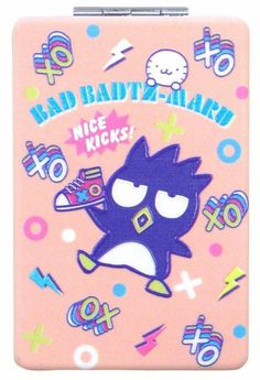 Badtz Maru Compact Mirror/Magnefier Sanrio *NEW* Hello Kitty My Melody, Sanrio Hello Kitty, Magnifying Mirror, Sanrio Characters, Little Twin Stars, Planner Organization, Compact Mirror, Pen Sets, Kawaii Cute