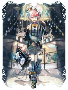 SEKAI NO OWARI's Fukase Vocaloid Designs.