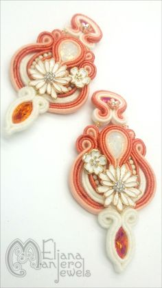 Vitaminic earrings-Soutache Earrings di ElianaManieroJewels