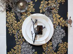 Set de table papier peint