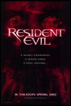 Resident Evil 27x40 Movie Poster (2002)