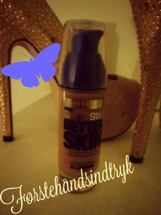 Førstehåndsindtryk   Maybeline super stay better skin Foundation