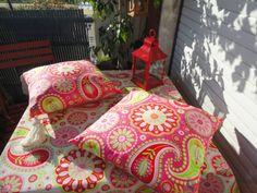 Outdoors pillows