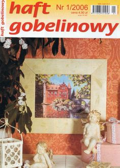 (1) Gallery.ru / Фото #1 - 2006 01 - tymannost Cross Stitch Magazines, Cross Stitch Books, G 1, Finding Yourself, Album, Baseball Cards, Embroidery, Projects, Painting