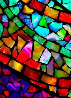 Stain Glass- I love it...want it in my home... and I am preparing to take classes on how to do it with my sister!