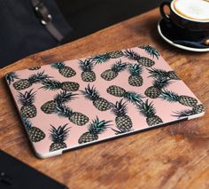 Pineapple Laptop Skin Sticker Pink Marble Vinyl Decal Dell Hp Lenovo Asus Chromebook Acer Laptop Decal Cover Skin For Any Laptop Sticker