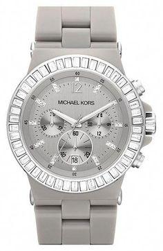 5100f74e740 Michael Kors Crystal Topring Ceramic Watch