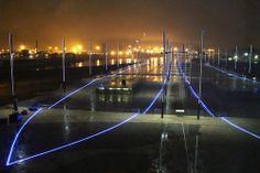 titanic memorial. titanic left, Olympia right.