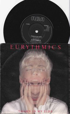 """EURYTHMICS Thorn In My Side 1986 Uk Issue 7"""" 45 rpm Vinyl Single record synth pop new wave rock 80s music Annie Lennox Da8  Free Shipping"""