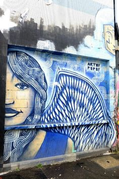 Paris 19 - rue de l'Ourcq - street art - artof popof