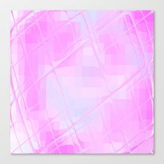 #Re-Created #Twisted SQ XXX #Stretched #Canvas  by #Robert #S. #Lee  - $85.00