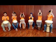 Momo Twins, Percussion, Drums For Kids, Bucket Drumming, Djembe Drum, Elementary Music, Music Therapy, Music Classroom, Music Lessons