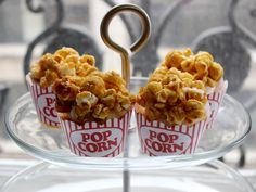 Buttercream Caramel Popcorn Cupcakes
